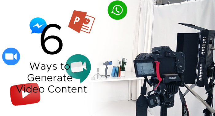 6 Ways to Generate Video Content