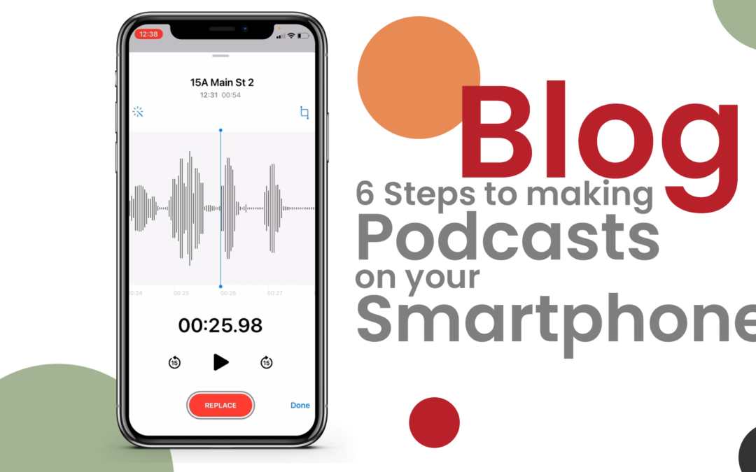 Six Steps to Making a Podcast with Your Smartphone